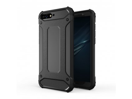 Hybrid Armor Case odolné pouzdro pro Huawei Y6 2018 černé