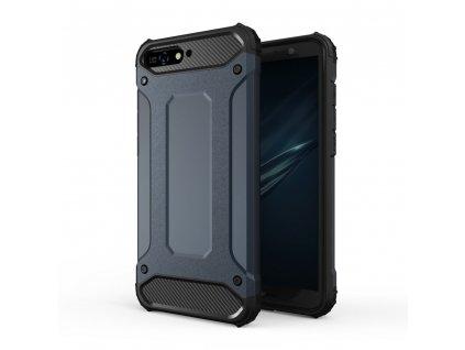 Hybrid Armor Case odolné pouzdro pro Huawei Y6 2018 modré