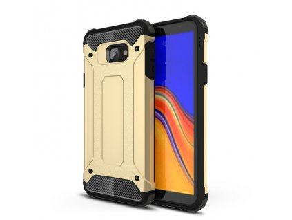 Hybrid Armor Case odolné pouzdro pro Samsung J415 Galaxy J4 Plus 2018 zlaté