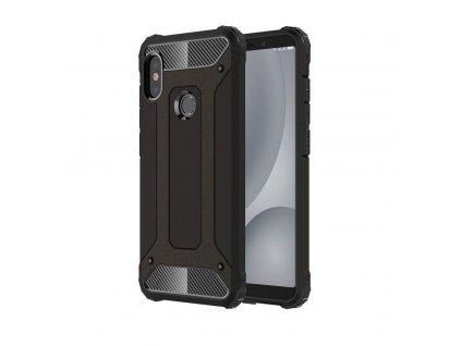 Hybrid Armor Case odolné pouzdro pro Xiaomi Mi A2 Lite / RedMi 6 PRO černé