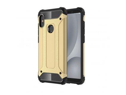 Hybrid Armor Case odolné pouzdro pro Xiaomi Mi A2 Lite / RedMi 6 PRO zlaté
