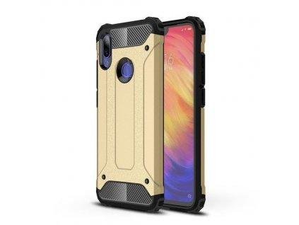 Hybrid Armor Case odolné pouzdro pro Xiaomi RedMi 7 zlaté