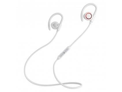 Baseus S17 sportovní bezdrátové bluetooth sluchátka bílé NGS17-02