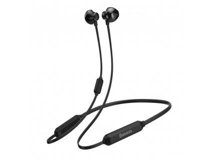 Baseus S11A sportovní bezdrátové bluetooth sluchátka černé NGS11A-01