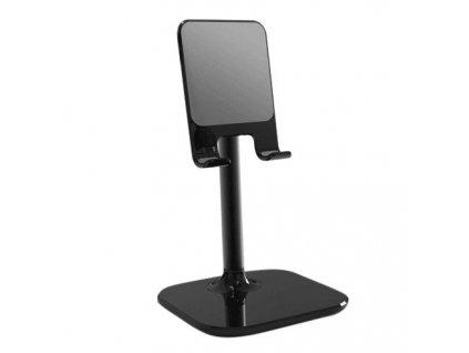 Stolní držák na tablet / mobilní telefon černý