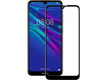 9H / 5D ochranné tvrzené sklo pro Huawei Y6 2019 černé 5900495750662