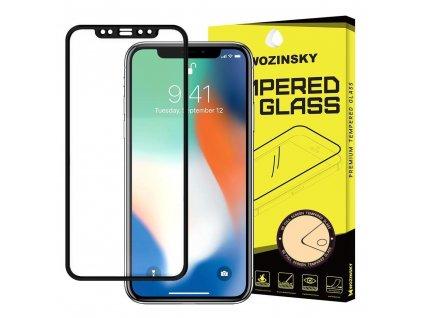 Wozinsky Full Glue 5D tvrzené sklo iPhone 11 PRO MAX / iPhone Xs Max černé 7426825354198