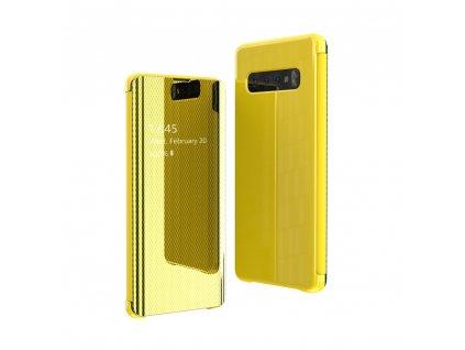 Pouzdro Flip View pro Samsung G970 Galaxy S10e žluté