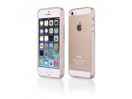 Pouzdro Ultra Clear Gel pro iPhone 5 / 5S / SE