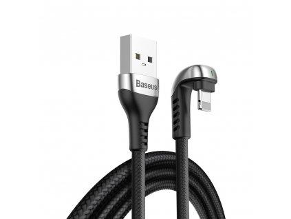 Baseus Green U kabel USB / Apple Lightning 2m / 1,5A černý CALUX-B01