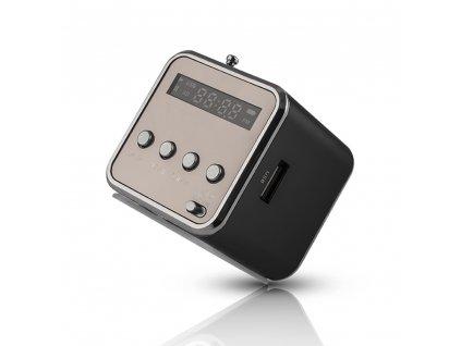 SETTY MF-100 Bluetooth reproduktor s rádiem černý