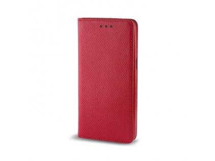 Pouzdro Smart Magnet pro Xiaomi CC9 / Mi A3 Lite / Mi 9 Lite červené