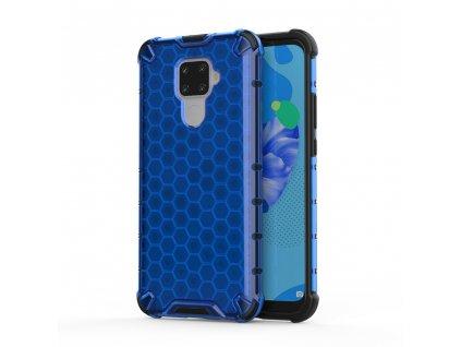 HoneyComb Armor Case odolné pouzdro pro Huawei Mate 30 Lite / Nova 5i PRO modré