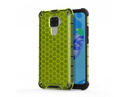 HoneyComb Armor Case odolné pouzdro pro Huawei Mate 30 Lite / Nova 5i PRO zelené