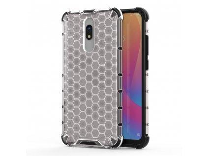 HoneyComb Armor Case odolné pouzdro pro Xiaomi RedMi 8 / RedMi 8A clear white