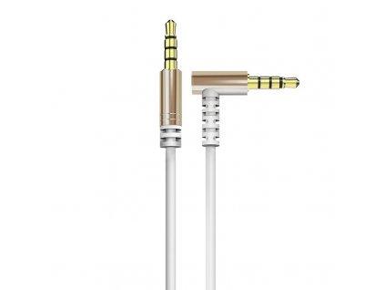 Dudao L11 Aux kabel 3,5mm jack / 3,5mm jack / 1m bílý