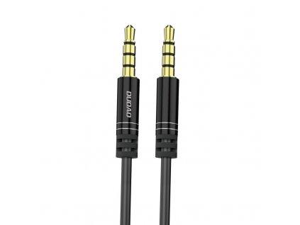 Dudao L12 Aux kabel 3,5mm jack / 3,5mm jack / 1,7m černý