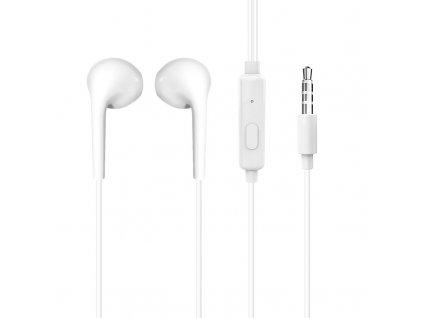 Dudao X10S EarPods handsfree sluchátka iOS / Android - univerzální 3,5mm jack bílé