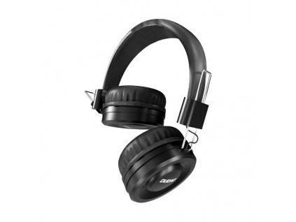 Dudao X21 hifi sluchátka s kabelem 1,5m / 3,5mm jack černé