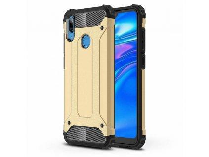 Hybrid Armor Case odolné pouzdro pro Huawei Y7 2019 / Y7 Prime 2019 zlaté