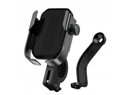 Baseus SUKJA-01 univerzální držák mobilu na kolo / motocykl černý