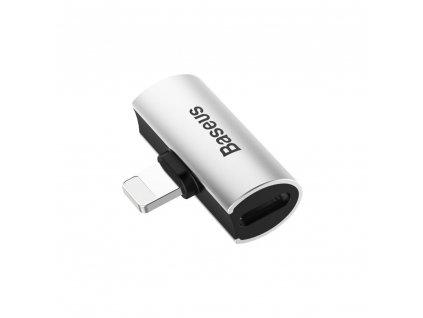 Baseus CAL46-01 adaptér pro Apple iPhone lightning 8pin / 2 x lightning 8pin stříbrný