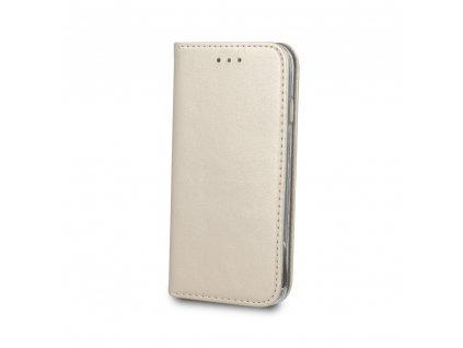Pouzdro Smart Magnetic pro Huawei Y5 2019 / Honor 8S zlaté