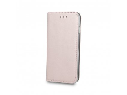 Pouzdro Smart Magnetic pro Huawei Y5 2019 / Honor 8S rosegold