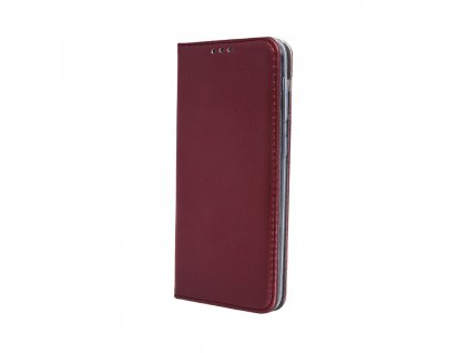 Pouzdro Smart Magnetic pro Apple iPhone 11 burgundy