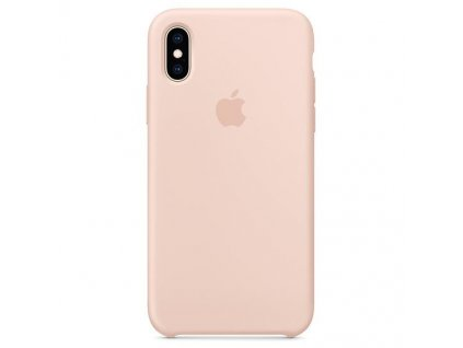 Apple MTFD2ZM/A pouzdro iPhone Xs MAX sand pink (blister)