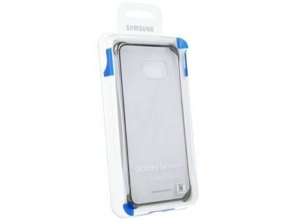 SAMSUNG EF-QG928CB Clear Cover pouzdro G928 Galaxy S6 EDGE+ clear / blue