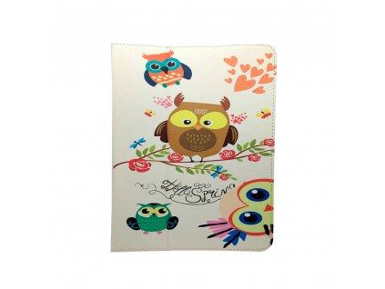 """Owls Family Case univerzální pouzdro na tablet 7-8"""""""