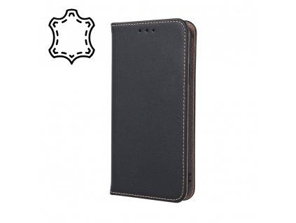 Pouzdro Smart PRO, kožené Xiaomi RedMi Note 8T černé