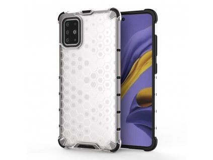HoneyComb Armor Case odolné pouzdro pro Samsung Galaxy S20 Plus clear white