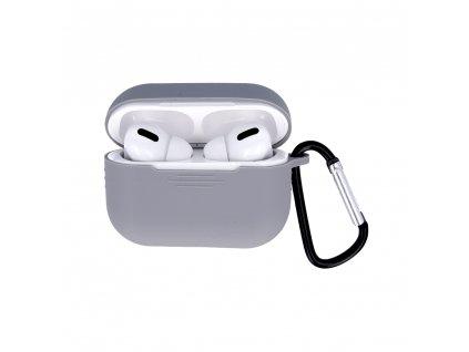 OEM silikonové pouzdro pro Apple AirPods PRO šedé