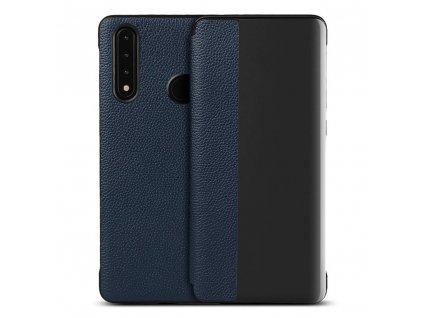 Pouzdro Sleep Case pro Huawei P30 Lite modré