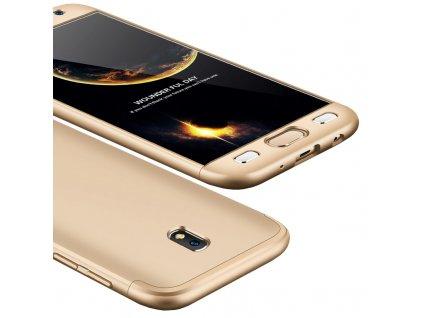 Pouzdro GKK 360 pro Samsung J330 Galaxy J3 2017 zlaté