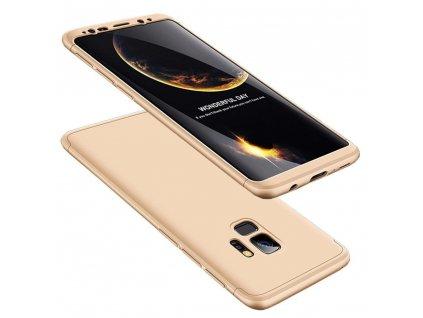 Pouzdro GKK 360 pro Samsung G960 Galaxy S9 zlaté
