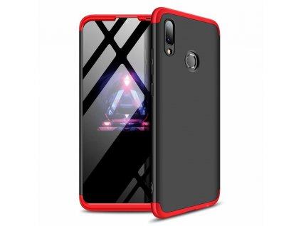 Pouzdro GKK 360 pro Huawei P Smart 2019 černá / červená