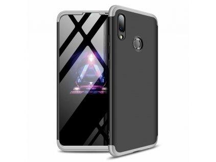 Pouzdro GKK 360 pro Huawei P Smart 2019 černá / stříbrná