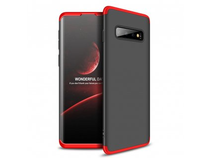 Pouzdro GKK 360 pro Samsung G970 Galaxy S10 černá / červená