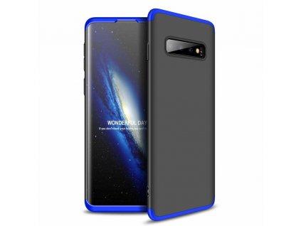 Pouzdro GKK 360 pro Samsung G970 Galaxy S10 černá / modrá