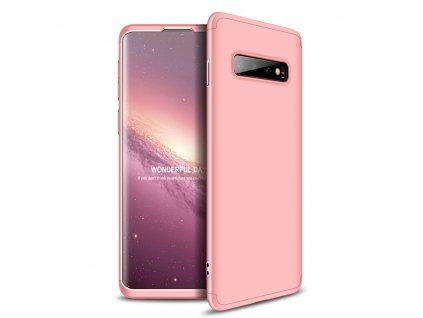 Pouzdro GKK 360 pro Samsung G970 Galaxy S10 růžové