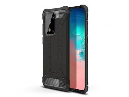 Hybrid Armor Case odolné pouzdro pro Samsung G985 Galaxy S20 Plus černé