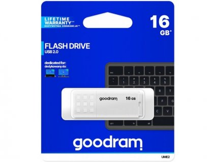 Goodram UME2-0160W0R11, 16GB flash disk / USB 2.0