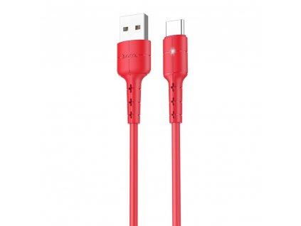 HOCO X30 USB kabel - USB-C 1,2m / 2A červený