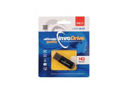 IMRO BLACK USB flash disk 32GB černý