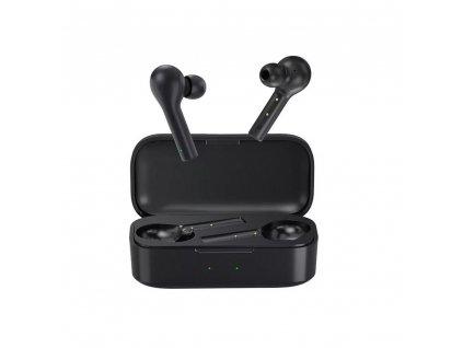 QCY bezdrátová bluetooth sluchátka TWS T5 černé