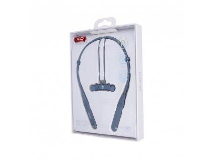 XO BS13 sportovní bezdrátové bluetooth sluchátka modré