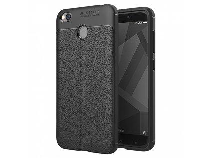 Pouzdro Litchi Case pro Xiaomi RedMi 4X černé